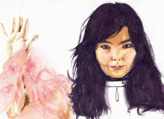 Björk by chromescarab
